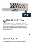 Modelo de Inventario ABC