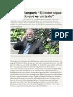 Héctor Pavón Entrevista a Alberto Manguel.