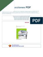 Manual de Instrucciones RICOH AFICIO MP 161SPF S
