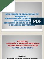 Presentación Rafael Uribe