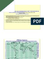 Características de Las Coordenadas Utm y Descripción de Este Tipo