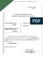 Decrescenzo Labor Case - Judgment Dismissing Federal Claim