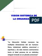 Vision Sistemica de La Organizacion