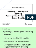 Speaking and Listening Materials for Workshop SL&L Conf 14.09.04