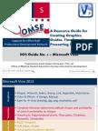 SOS Guide No. 04 Microsoft Visio 2013