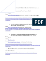 Bibliografie PFI