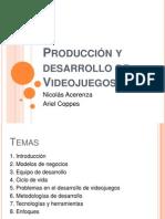 Produccion y Desarrollo de Proyectos