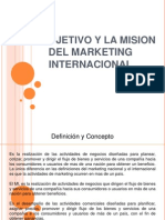 Diapositivas Marketing Internacional