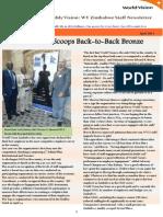 WVZimbabwe April 2014 Newsletter