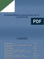 cum se varicează ultrasunetele