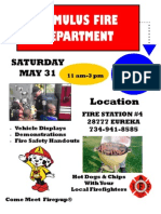 Romulus Fire Department Open House 5-31-14