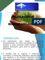 Delegacion de Responsabilidades