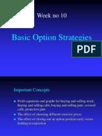 Basic Option Strategies