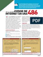 Internet - Un Servidor de Internet en Una 486
