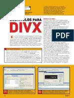 PU002 - DivX - Subtítulos Para DivX