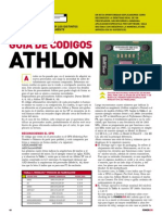PU006 - Hardware - Guía de Códigos ATHLON