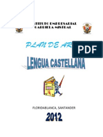 Plan de Area Lengua Castellana 2012