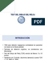 Test Del Reloj_ejercicios