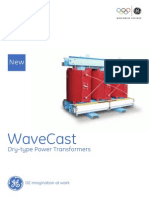 WaveCast Dry Type GE Transformer