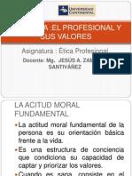 Separata 2 El Profesional y Sus Valores