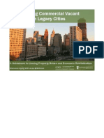 Redeveloping Commercial Vacant Properties in Legacy Cities