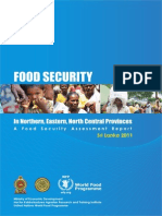 Wfp243519 Food Security Assessment Report