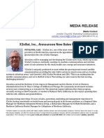 MEDIA RELEASE Aboudara SalesMngr April 2014