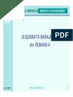 Siguranta Barajelor in Romania 2009