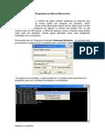 Programas em USB