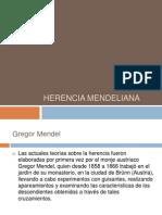 Herencia mendeliana
