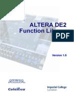 DE2 Library Manual