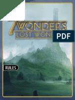 Lost Wonders v3.9 - Rulebook