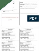 Ficha de Presença Plantões Emergência