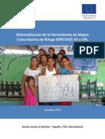 Sistematización de la Herramienta de Mapas Comunitarios de Riesgo DIPECHOS VII y VIII. Guatemala, 2013