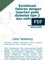 Kombinasi Aliskiren Dengan Losartan Pada Diabetes Tipe 2