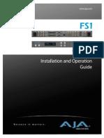 Aja Manual Fs1 2