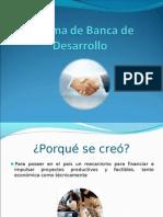 Sistema de Banca de Desarrollo