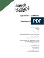 QLS-2000 3000 Manual Ingles