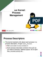 Linux Process Mgt