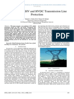G.P.S. use in EHV and HVDC Transmission Line Protection
