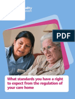 Standards to Expect Carehome