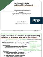 Agile Use Cases