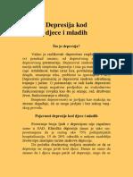 Depresija Kod Djece i Mladih