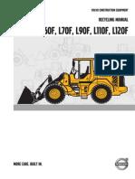 Volvo Wheel Loader Recycling Manual L60F L120F