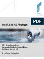 105-120-125 PELE Firing Test