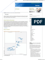 Magic Quadrant for Mobile Device Management Software