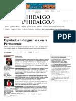 02-05-14 Diputados Hidalguenses, en La Permanente