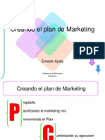 Creando El Plan de Marketing 1
