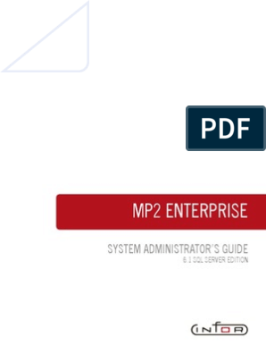 Mp2 System Administrator S Guide Directory Computing Databases