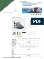Non-pressure Water Heater Datasheet